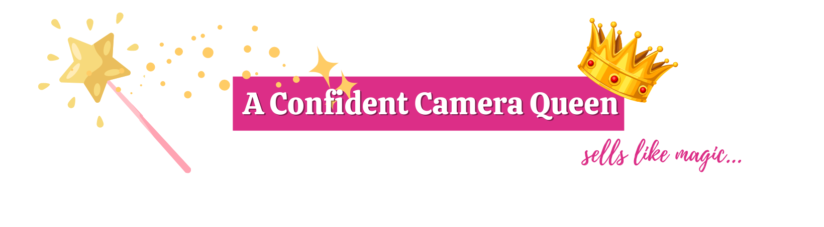get confident on camera to sell
